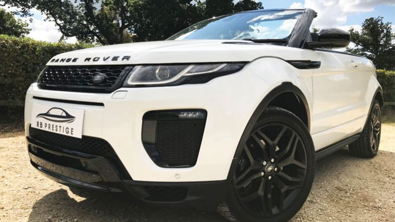 ROAD TEST: The stylish and fun Range Rover Evoque Convertible