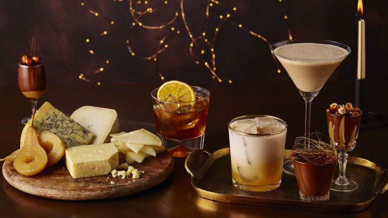 3 Festive cocktails to enjoy with your canapes & post dinner treats