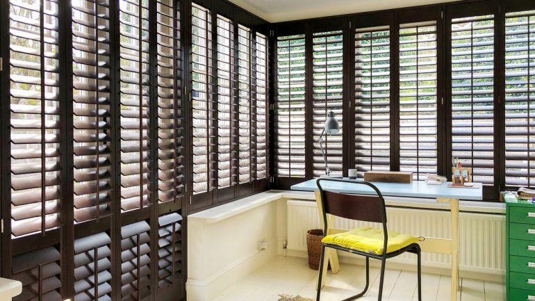 Stunning Shutters in all the colours of the rainbow!