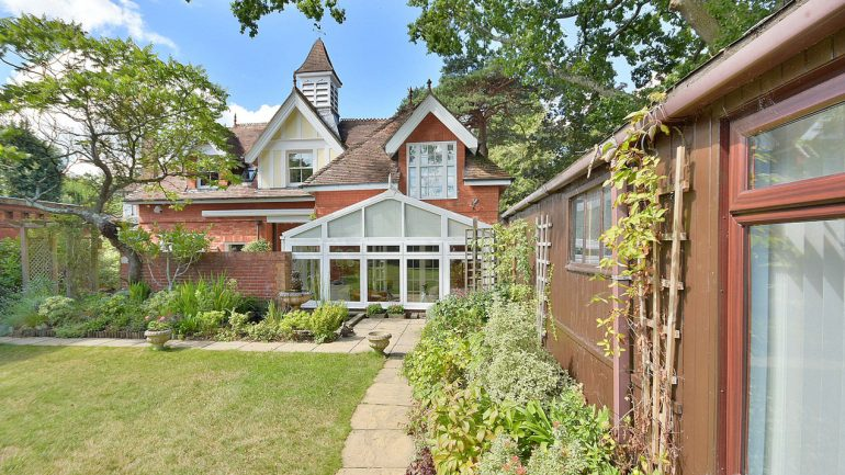A stunning and unique detached coach house