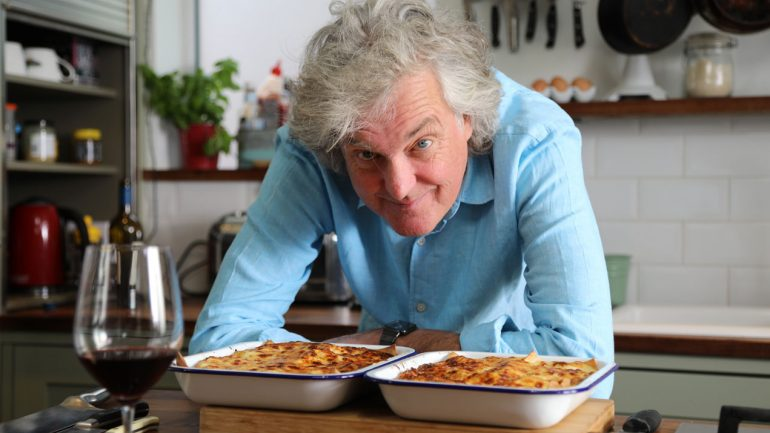 James May: I'm against eating in my own car