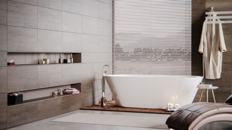 Interiors by Haroys ask:  Do you prefer a shower, bath or perhaps a sauna in the peace of your own home?